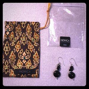 NWT Novica Earrings with Gift Bag